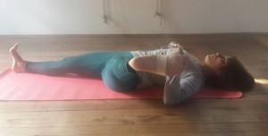 foot-knee-hip alignment in supta padanghustana 2